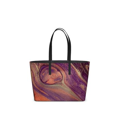 Feather light abstract Kika Tote