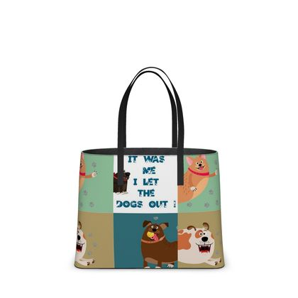 Let the Dogs Out Kika Tote