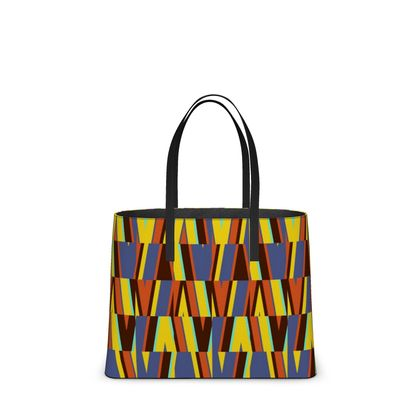 African Geometry Kika Tote