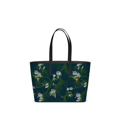 Paradise Kingfisher Collection - Luxury Kika Tote