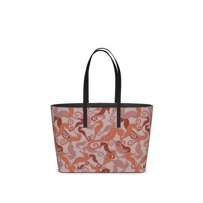 Sea Life Collection_Seahorses (Small) -  Kika Tote bag