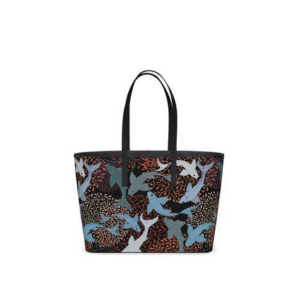 Sea Life collection_Sea Ginger - Kika Tote bags