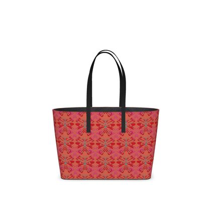 Butterfly Collection (Red Berry) - Luxury Kika Tote bag