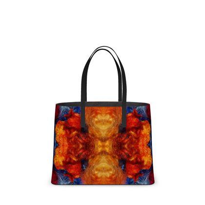 Sunflower Mandala Art Tote by So Kat! Designs