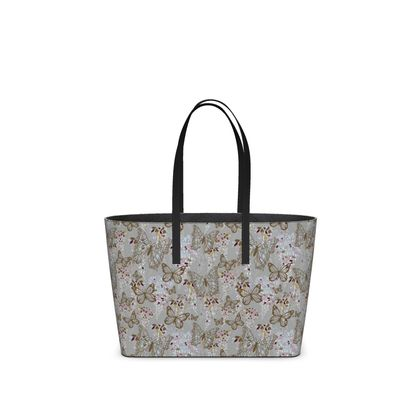 Wisteria Butterfly /collection (Small) - Luxury Kika Tote Bag