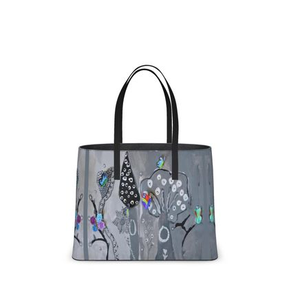 Paper Painting Forest Kika Tote