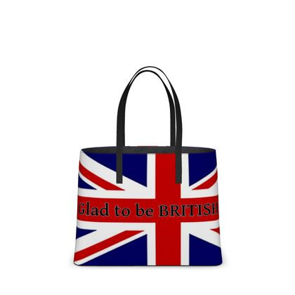 Glad to be BRITISH tote bag...