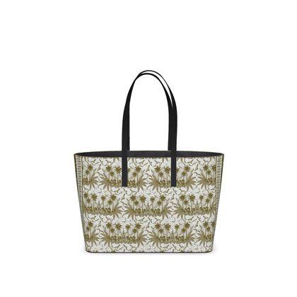 Singing Bird Design - Sand Scarf - Luxury Kika Tote Bag