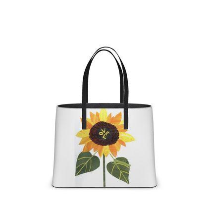 Kika Tote with 'Sunflower Love' design
