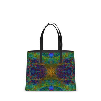 Tote-Tasche mit Edelstein-Design