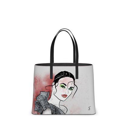 Silver Sparkle Tote Bag