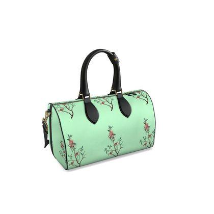 Duffle Bag - Emmeline Anne Birds On a Branch Mint