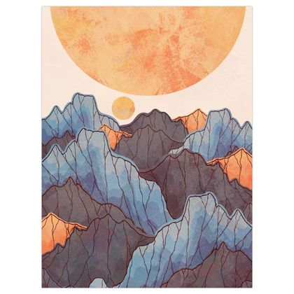 A land under the great sun poster print