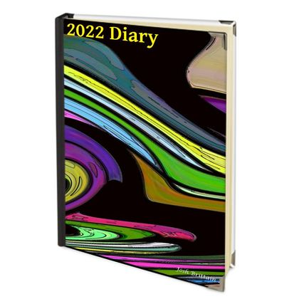 2022 Deluxe Diary - Spinning Wheels