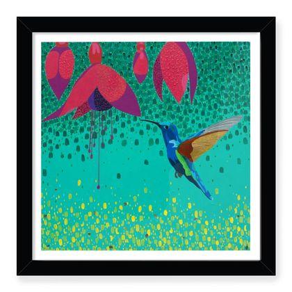 Flower Dance Framed Art