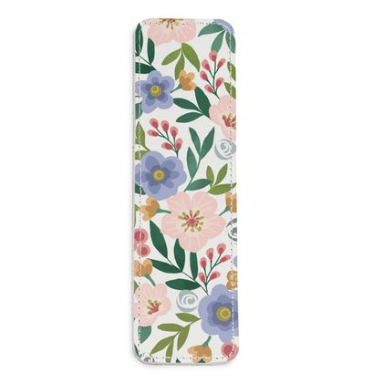 Leather Bookmarks, Flourishing Florals