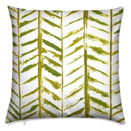 The Skeleton of Leaves Cushion