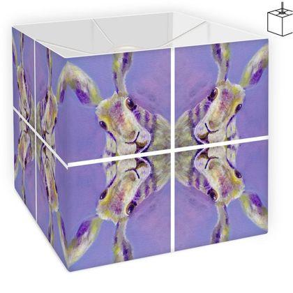 Purple Hare Design Square Lampshade