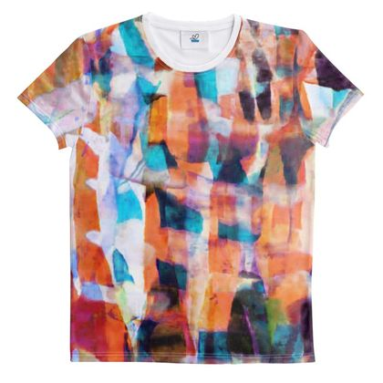 Cut And Sew All Over Print T Shirt 48