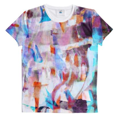 Cut And Sew All Over Print T Shirt 62