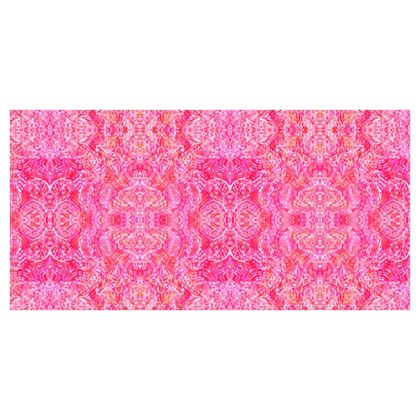 Fabric Printing Magenta Painting