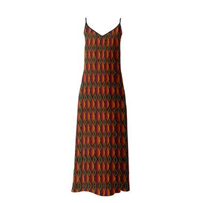 Orange Passion Maxi Dress