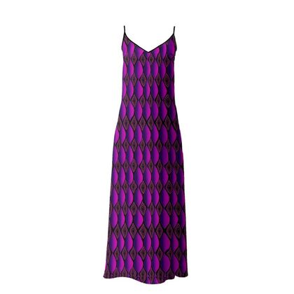 Violet Passion Maxi Dress