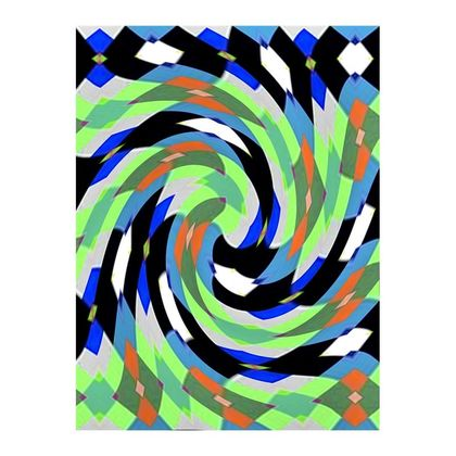 Double Deckchair - Abstract Frenzy