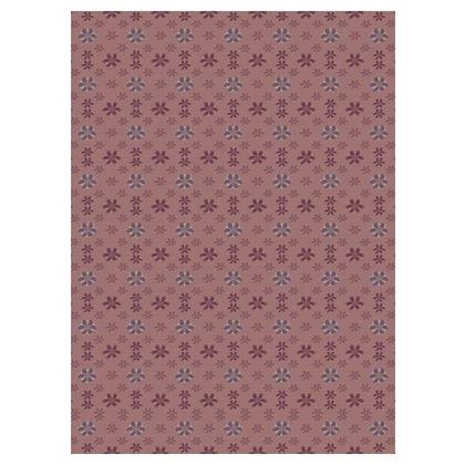 Pink Art Flowers Maxi Dress
