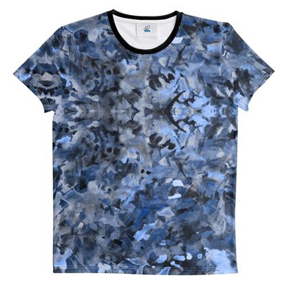Cut And Sew All Over Print T Shirt Paint 3