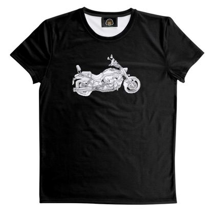 T Shirt - Cruiser Sketch