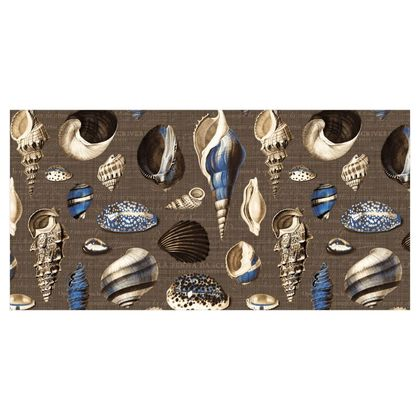 Nautilus in sepia cobalt brown