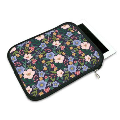 IPad Slip Case, Flourishing Florals Design