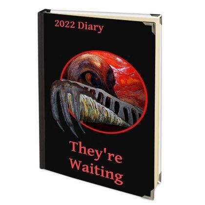 2021 Deluxe Diary - Alien Eyes