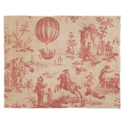Scarf, Wrap or Shawl The Ballon of Gonesse