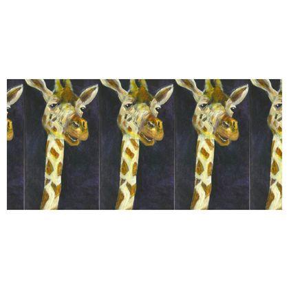 Cute Giraffe Folding Stool