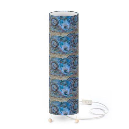 Blue Ram Floor Lamp