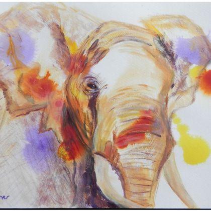 African Elephant Deckchair