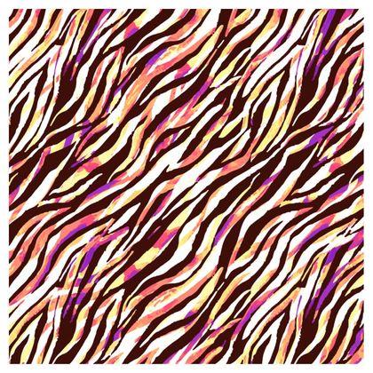 Zebras at the Disco Ladies Bomber Jacket
