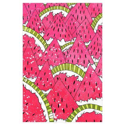 Fabric Printing - Watermelon Mountains