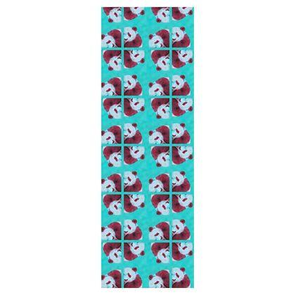 Panda Pattern Deckchair