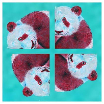 Panda Pattern Luxury Cushion