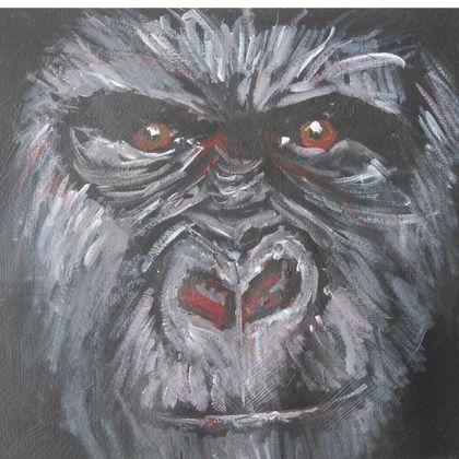 Gorilla Luxury Cushion