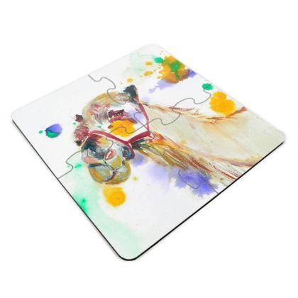 Camel Jigsaw Coaster