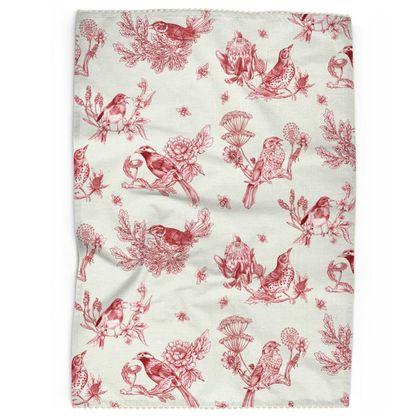Tea Towel - Chinoise Rouge