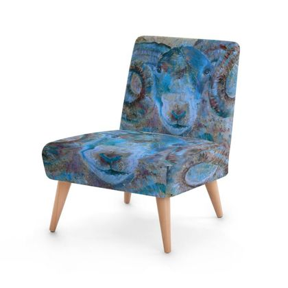 Blue Ram Occasional Chair