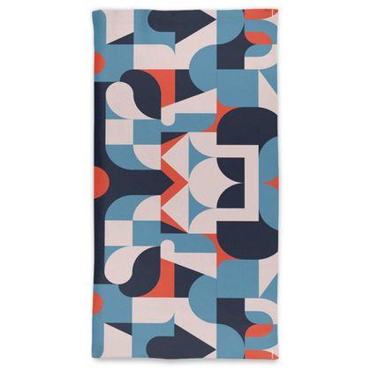 Neck Tube Scarf - Vintage pattern