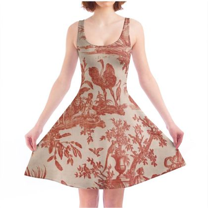 Skater Dress Four Parts of the World