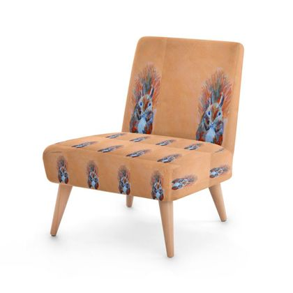 Red Squirrel Occasional Chair