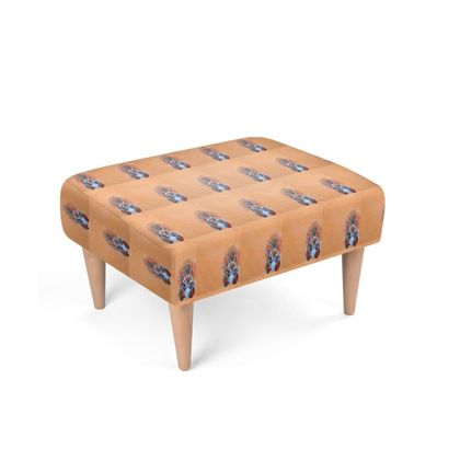 Red Squirrel Footstool